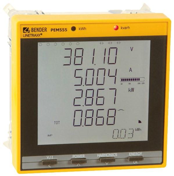مدیریت انرژی و کیفیت توان PEM555 BENDER