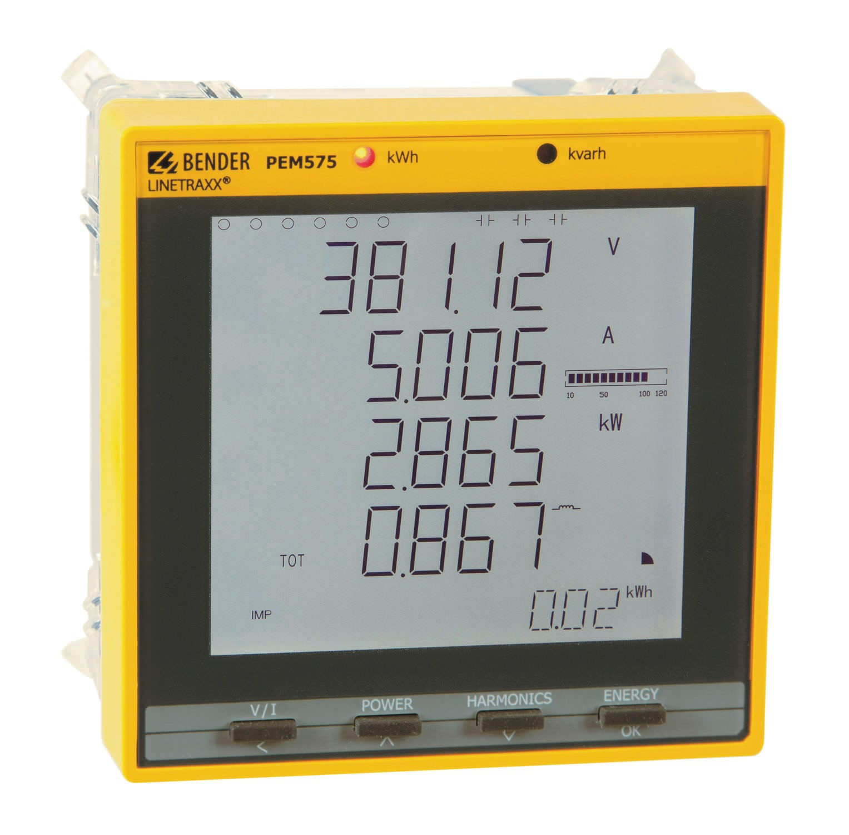 مدیریت انرژی و کیفیت توان PEM575 BENDER