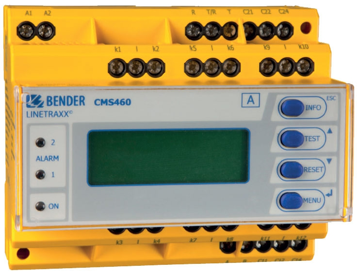 رله جریانی - رله صنعتی BENDER
